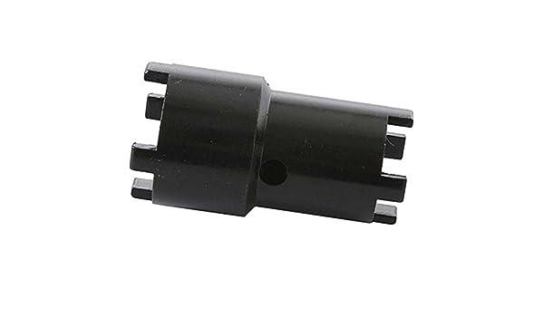 30mm schwarz NR0649964410625 0649964410625 Unbekannt Motorrad Kronenmutterschl/üssel 26