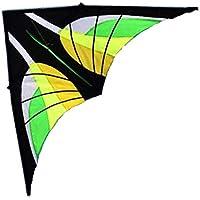 FZSWD Strong Green Kite Enormes para Principiantes Delta Kites de 110 Pulgadas con Cuerda y manija