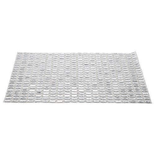 5 x 15mm Weiß Mesh Banding Glas Strass Trim Kristall Für Diy Aufkleber Appliques Blatt -