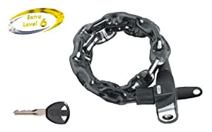 ABUS Fahrradschloss Catena 680/75 LL Plus URB, Black, 75 cm, 48570