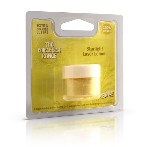 Laser Lemon, essbar, Sternenlicht Staub, für Lebensmittel geeignetem & Kuchendekoration