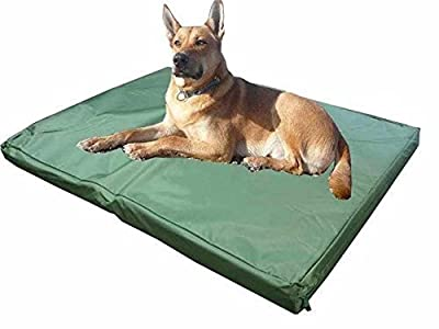 ADOV Doublesided Waterproof Dog Pet Cat Bed Mat Cushion Mattress Washable Removable Hard Wearing Foam Cover – Medium - Large by ADOV