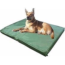 ADOV Cama para mascotas de doble cara impermeable, cojín o colchón para perros o gatos lavable, con cubierta de espuma resistente al desgaste