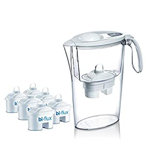 Laica J996 Kit 6 filtri (6 mesi di acqua filtrata) + 1 Caraffa Filtrante Stream Line in omaggio (colori assortiti), 100… 5 spesavip
