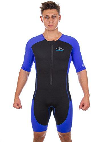 Aqua Sphere Stingray, Schwimmanzug Schwimmen unisex-adulto, unisex - erwachsene, Stingray, Blau/Grau (Aqua Sphere-schutzhülle)