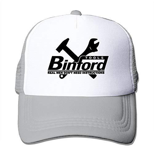 Man's Popular Home Improvement Binford Tools Flat Along Baseball Cap Snapback Hats Baseball-cap-tool