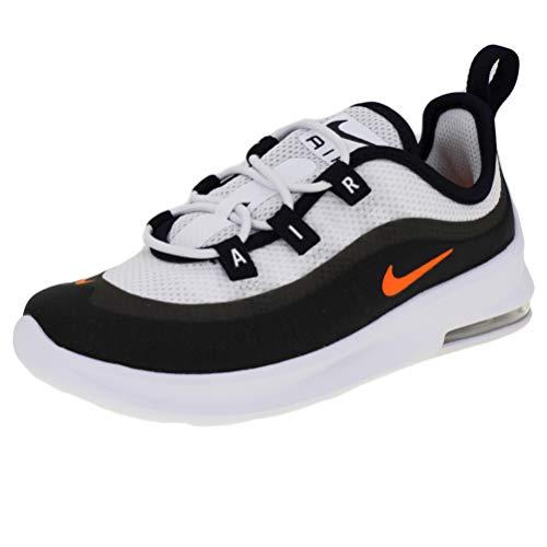 Nike Unisex-Kinder Air Max Axis (td) Leichtathletikschuhe, Mehrfarbig (White/Total Orange/Obsidian 102), 25 EU