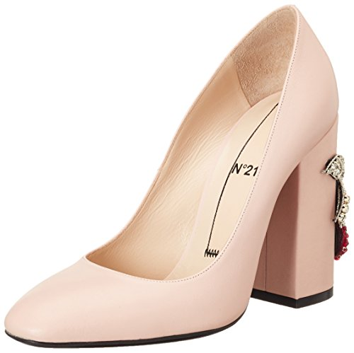 N°21 Damen 8160.2 Pumps, Pink (Nude), 41 EU