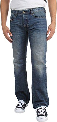 Diesel -  Jeans  - Jeans boot cut - Uomo blau verwaschen 33W x 32L