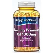 Aceite de Onagra 1000 mg | Mejora la salud del corazón, de la piel y