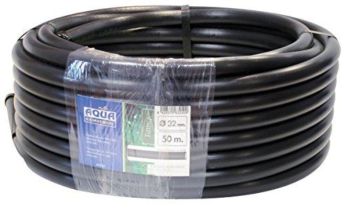 Aqua Control 63250 Spülschlauch 32 mm, Schwarz, 5000 x 3,2 x 3,2 cm -