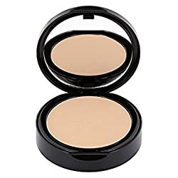light (PC2) : Professional mineral powder, pressed, with highly-prized zinc, talc free, Make-up for all skin types with high coverage - color: light (PC2)
