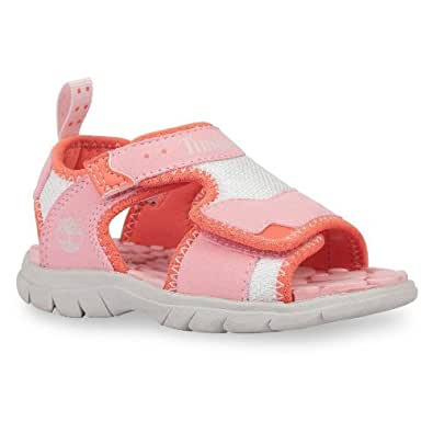 Timberland Kids Little Harbor 2 Strap Sandal - Pink 9.5