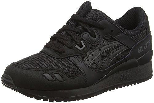 Asics Gel-lyte Iii, Chaussures de Running Compétition mixte adulte, Noir, 42.5 EU