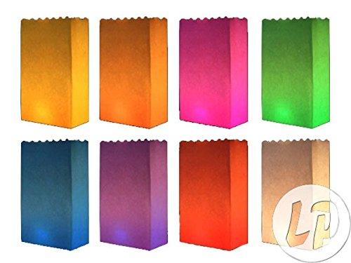 Preisvergleich Produktbild Lot / Set von 12 Stück - mischen Gartenlaterne