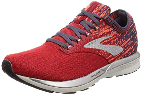 Brooks Ricochet, Chaussures de Running Homme, Rouge (Red/Orange/Grey 636), 46 EU