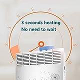 XP Riscaldatori elettrici 2000 W Termoventilatori Riscaldamento a pavimento per uso domestico con scatola di umidificazione Il riscaldamento non è bianco secco