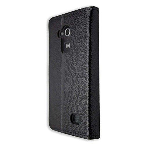 caseroxx Tasche Case Hülle Bookstyle-Case für Doro Liberto 824/825 in schwarz