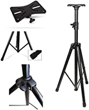"""Wownect Universal Speaker Stand Mount Holder, Projector Tripod Stand [Adjustable Height from 40"""" to 71""""] Multi"""