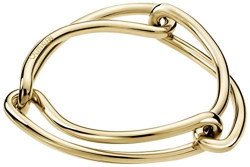 Calvin Klein Damen Armreifen Edelstahl - 7612635126647