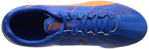 Puma evoSPEED 4.4 AG, Herren Fußballschuhe blau / orange