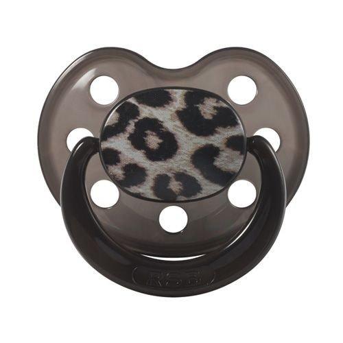 Rock Star Baby ciuccio Succhietto in silicone Leopard taglia 2