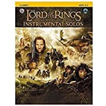 Lord Of The Rings: Instrumental Solos: Clarinet (Book And CD). Partitions, CD pour Clarinette