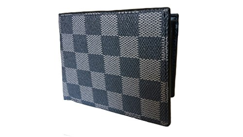 Just Click Fashion Grey Genuine Leather Wallet For Men's  available at amazon for Rs.499