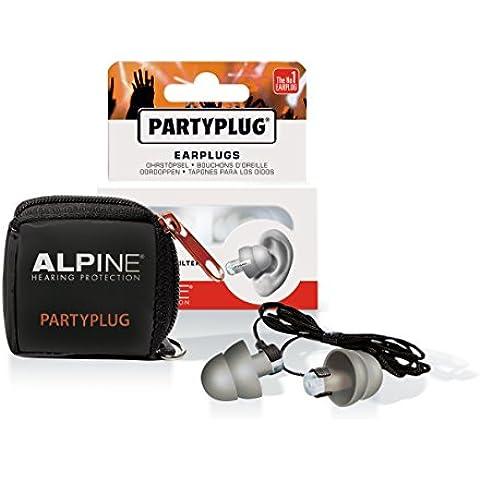 Alpine Danza tapones para los oídos Funda de almacenamiento, negro para el viaje