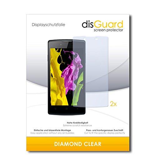2 x disGuard® Bildschirmschutzfolie Oppo Neo 5 Schutzfolie Folie