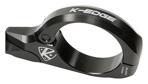 K-EDGE Unisex- Erwachsene K13-1500 Garmin Mount Halterungen, Black Anodize, One Size (Edge-mount-scharnier)