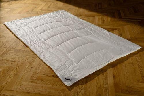 BETTY Tencel morbido piumino, bianco luce, bianco, 200 x 200 cm