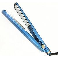 WUTONG Versión azul estrecha clásica de nano titanium plancha de pelo cinco control de temperatura férula