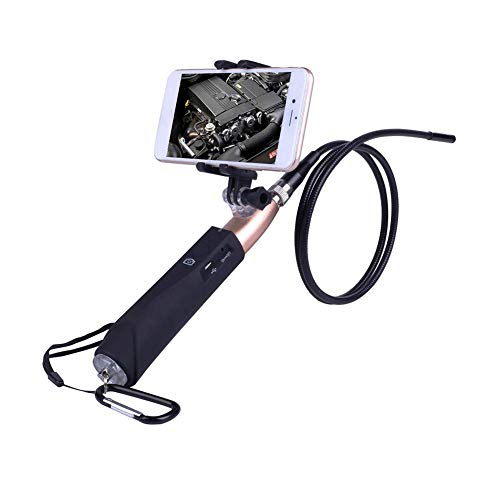 HACNKJ Endoskop 720P HD Wireless WiFi Tragbares Dental Camera Waterproof Inspection mit für ios/Android
