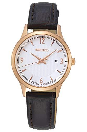 Seiko neo classic orologio Donna Analogico Al quarzo con cinturino in Pelle di vitello SXDG98P1