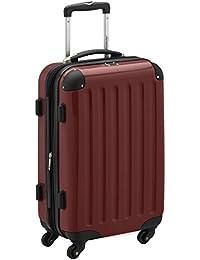 HAUPTSTADTKOFFER - Alex - Handgepäck Hartschalen-Koffer Trolley Rollkoffer Reisekoffer Erweiterbar