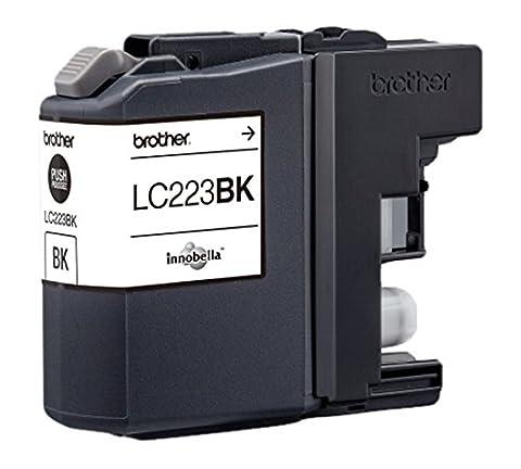 Brother Original Tintenpatrone LC-223BK schwarz (für Brother DCP-J4120DW, MFC-J4420DW, MFC-J4620DW,