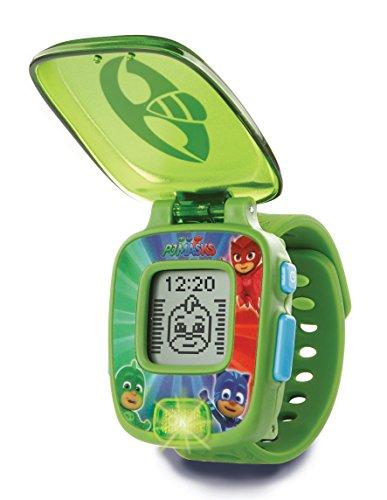 VTech- PJ Masks Gekko, Reloj Digital Educativo, Color Verde (80-175887)