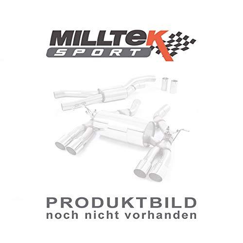 Sport Auspuff Milltek SSXVW427 Anlage ab KAT | DPF (TÜV) Kompatibel zu: up! 1.0 TSI BMT (66 kW /90 PS) | HSN: 0603 | TSN: CAS | up! (AA) 3-Türer Schrägheck move up!