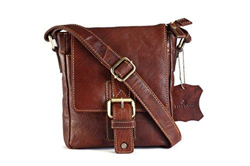 0bc7650598c0 Visstosso Crossbody Genuine Leather 8 Ltrs Tan Passport Holder And ...