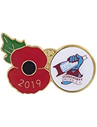 The Royal British Legion Scunthorpe Poppy Football Pin 2019