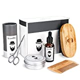 Best Beard Oil Kits - Beard Grooming Kit Mens Gifts Set - Unscented Review