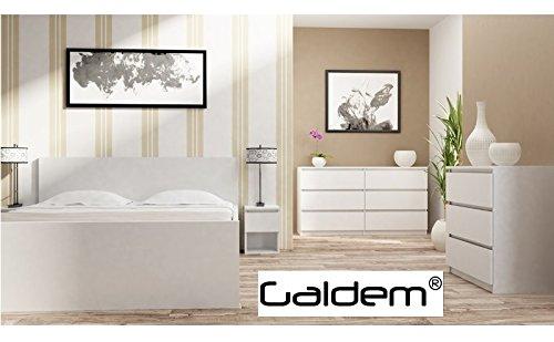 Kommode mit 6 Schubladen Sideboard Mehrzweckschrank Anrichte Diele Flur Esszimmer Wohnzimmer Weiß - 5