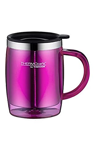 Café by Thermos thermique 4059.244.035Bureau Mug Tasse, 0,35l, plastique, rose