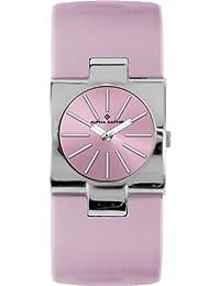 Alpha Saphir 271F - Reloj de mujer de cuarzo, correa color rosa