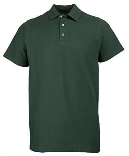 001 Herren Polo-T-Shirt Poloshirt Polohemd RTY bis Gr. 10XL Übergröße Bottlegreen