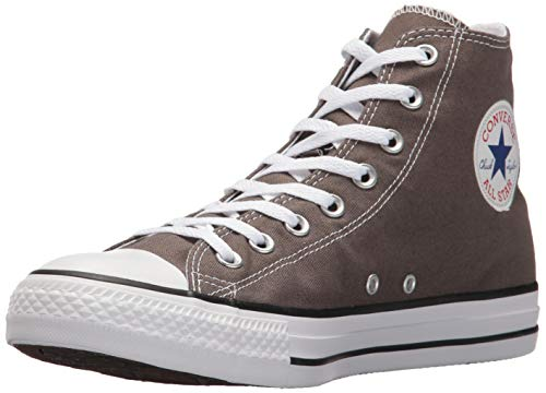 4 - Converse Chuck Taylor All Star Speciality Hi, Zapatillas Altas de Tela Unisex Adulto, Gris (Charcoal), 40 EU