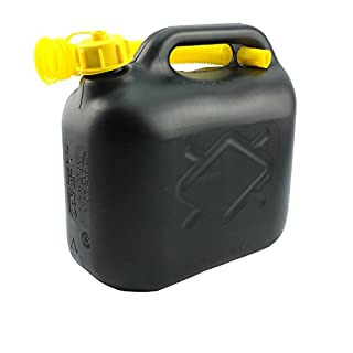 Petrol Can - In Assorted capacity Of 5L, 10L, 20L With Pouring Spout (Pack of  1, 5L)