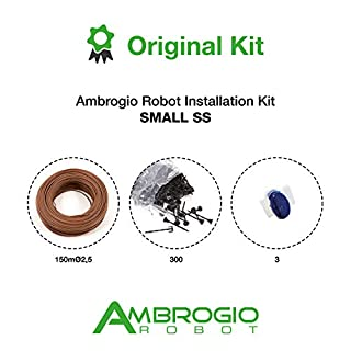 Ambrogio Robot Installation Kit Small SS (150mØ2,5 + 300 Nails + 3 Conn),
