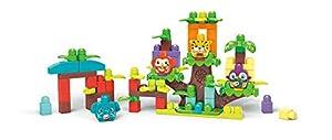 Mega Bloks Casa del árbol bloques de construcción bebé 1 año (Mattel GGG11)